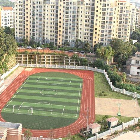 信宜大成中学500m跑道和人造草坪