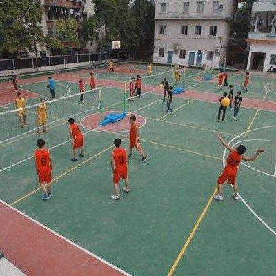 职业学校排球场
