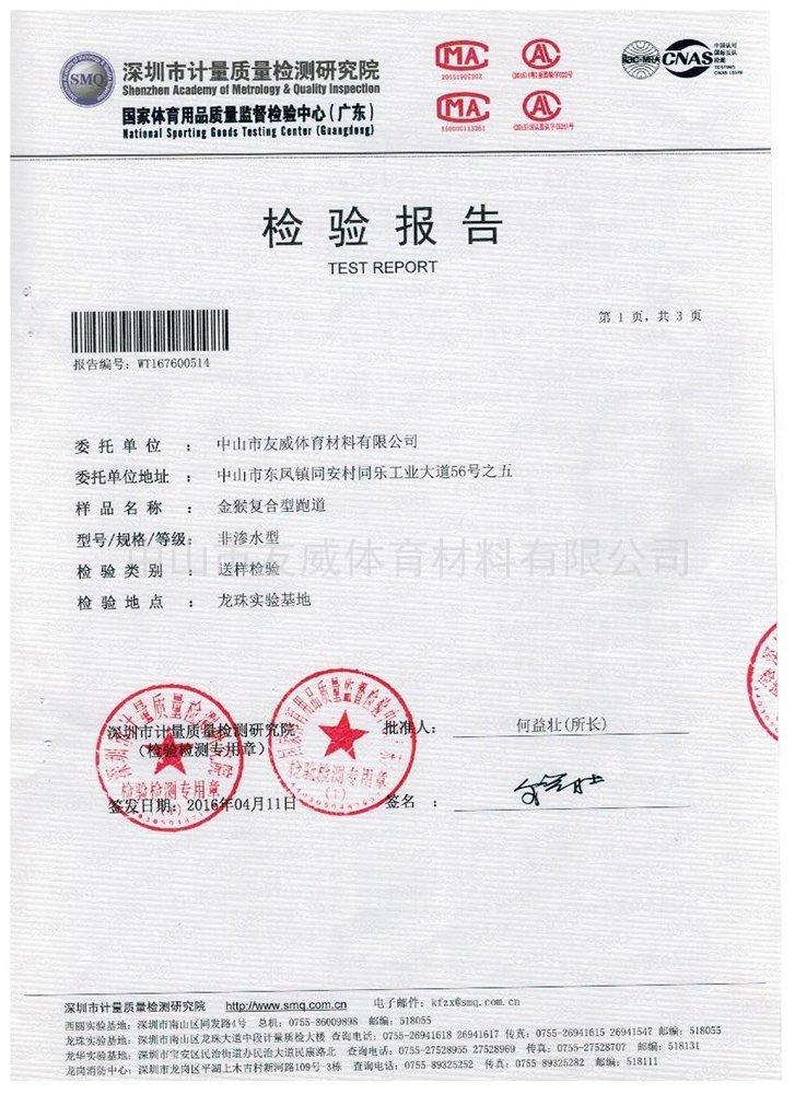 复合型检测报告 检测报告 1