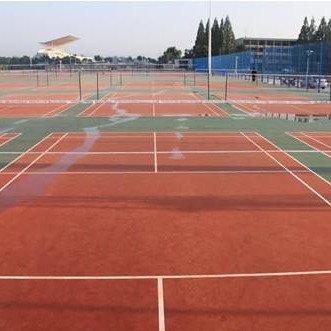 职业学校羽毛球场