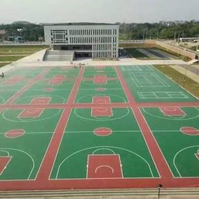 江西赣州兴国中学硅PU球场
