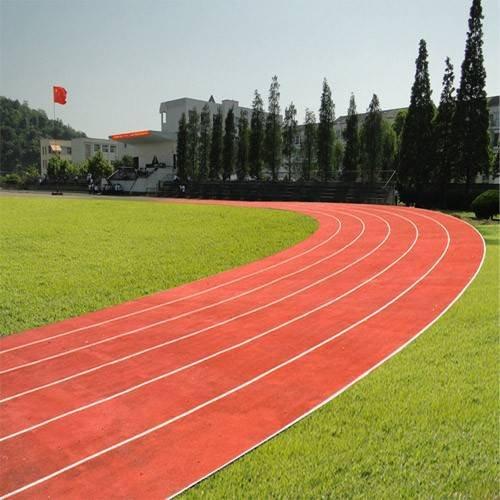 培正学院 400米塑胶跑道工程