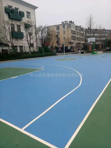 合肥市庐江县硅pu篮球场