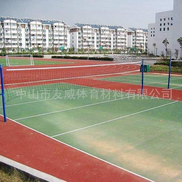 复合型排球场施工