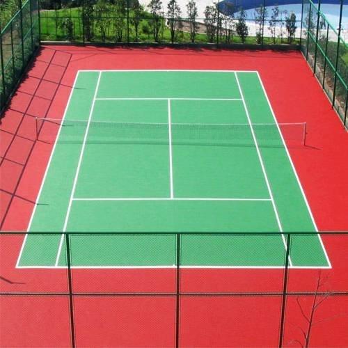 硅PU网球场施工